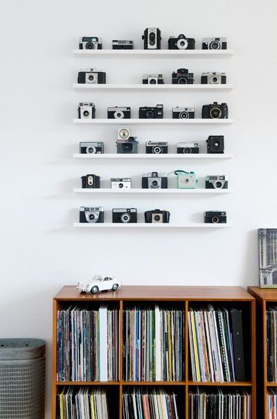 vintage camera decoratief