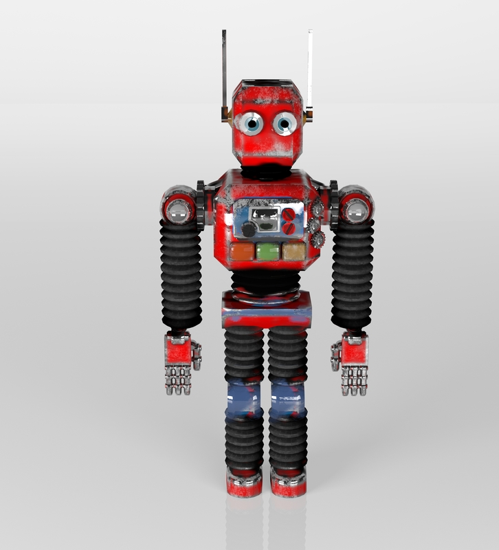 robots van blik