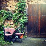 vintage look in de tuin